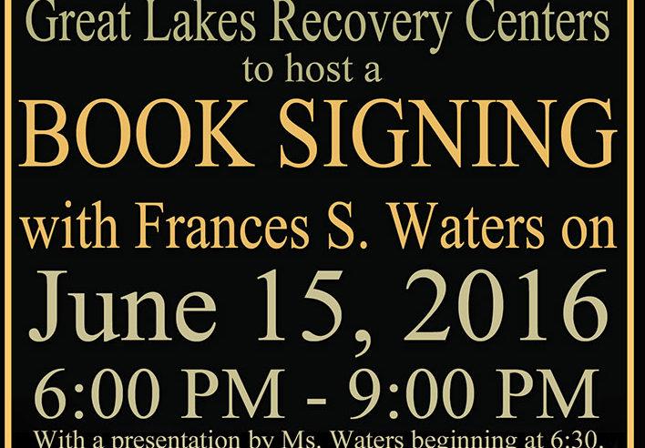 Healing Book Signing